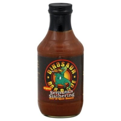 Dinosaur Bar-B-Que Original Sensuous Slathering BBQ Sauce-33.8 Ounce Bottle
