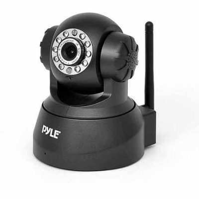 Pyle PIPCAM5 IP Camera Surveillance Security Monitor with WiFi