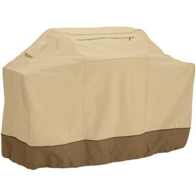Classic Accessories Veranda Barbecue Grill Cover, Up to 64″ Wide, Large