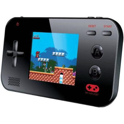 My Arcade Handheld Video Game System in Black