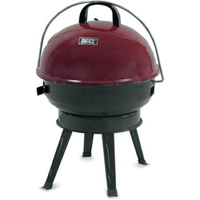 Backyard Grill 14.5″ Round Portable Charcoal Grill