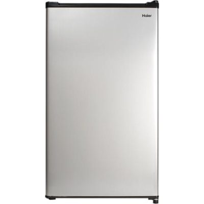 Haier 2.7 cu ft Refrigerator, Virtual Steel