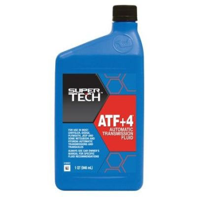 Super Tech ATF Plus 4 Automatic Transmission Fluid, 1 qt