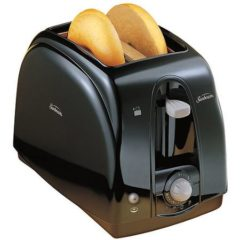 Sunbeam 2-Slice Cool Touch Toaster, Black