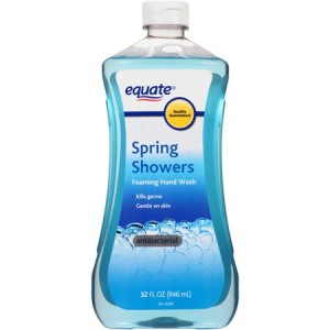Equate Spring Showers Scent Foaming Hand Wash Refill, 32 fl oz
