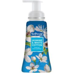 Softsoap Jasmine & White Cotton Foaming Hand Soap 8 oz