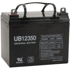 Universal Battery 85980/D5722 Upg 85980/d5722 Sealed Lead Acid Batteries [12v; 35 Ah; Ub12350]