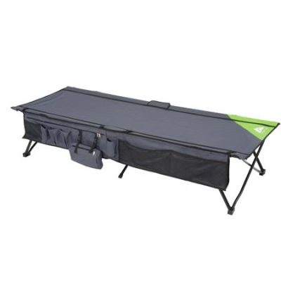 Ozark Trail Instant Cot with Side Storage, Sleeps 1