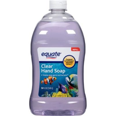 Equate Clear Liquid Hand Soap Refill, 56 fl oz