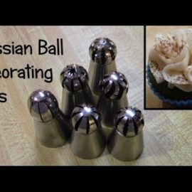 Using Russian Cake Decorating Tips (Trial & Error!)